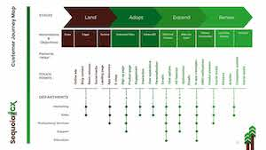 SequoiaCX | Customer Journey Map | LAER Model