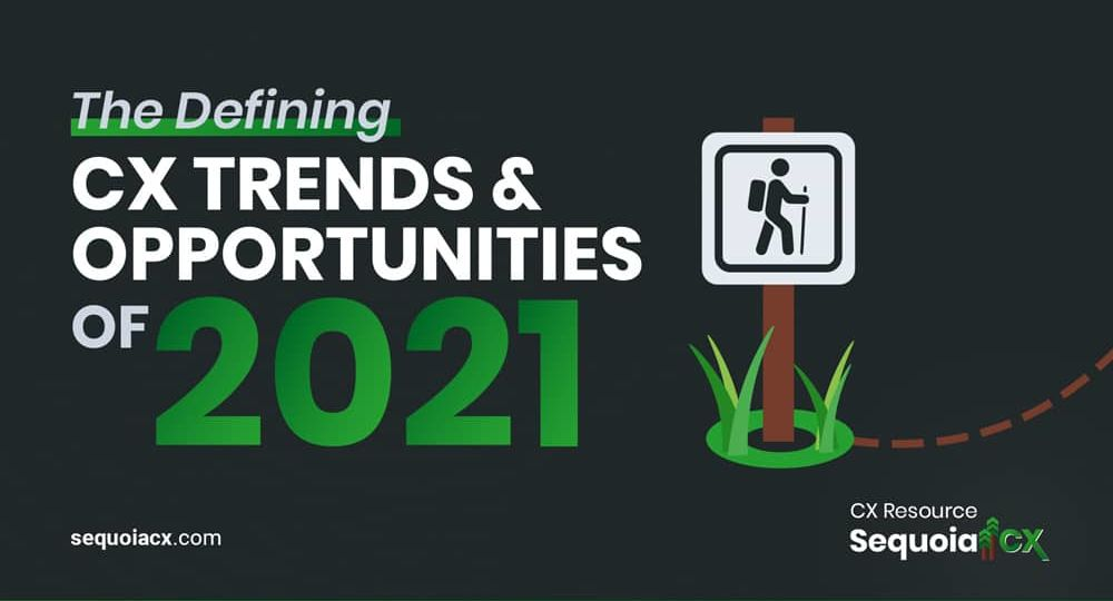 The Defining CX Trends & Opportunities of 2021 Ebook | SequoiaCX